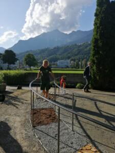 Pflasterarbeiten gartenbau Hussl im Unterland Tirol
