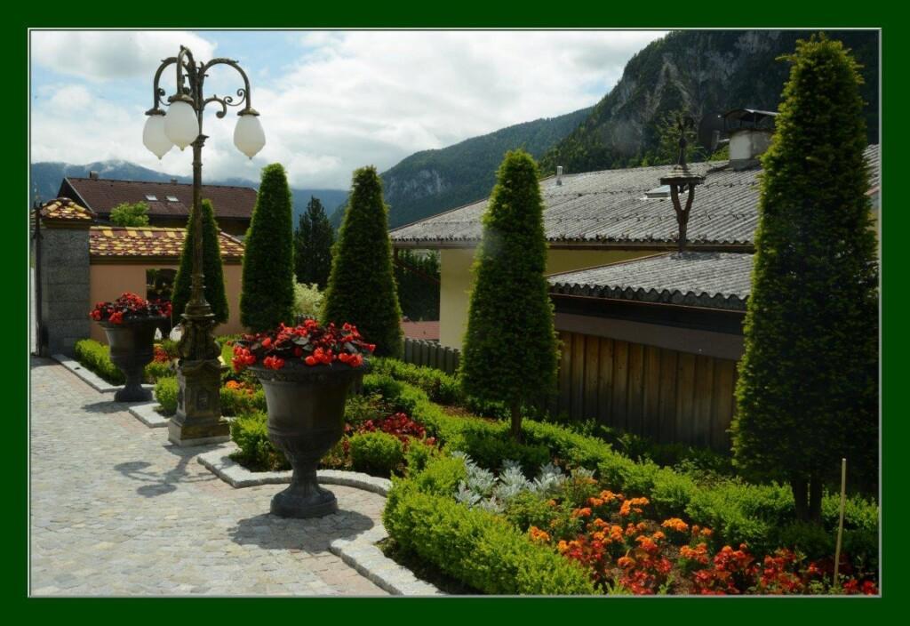 Gartenanlage am Achensee