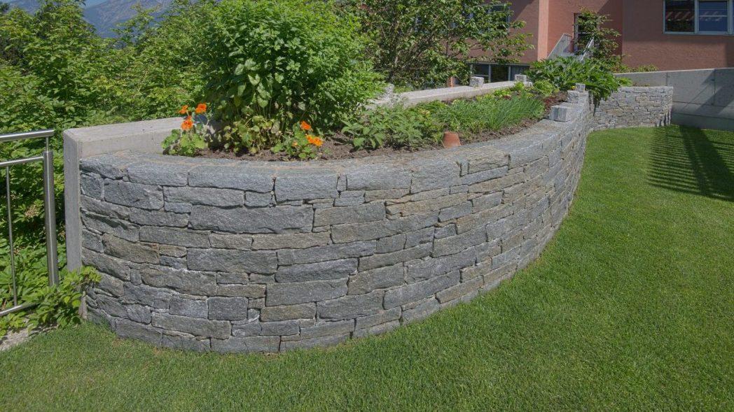 Hochbeet Stein Gartengestaltung