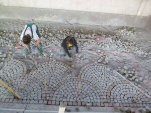 Platz Pflastern in Tirol